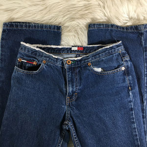 Tommy Hilfiger Vintage Raw Hem Waist Denim Size 5